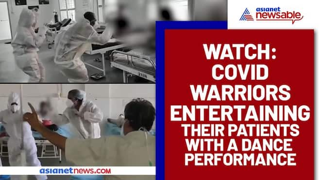 COVID Warriors Dancing to cheer patients; Video Goes Viral - gps