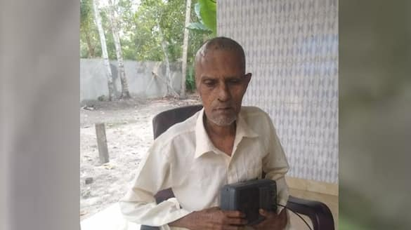 shanmukhan makes life with love of radio