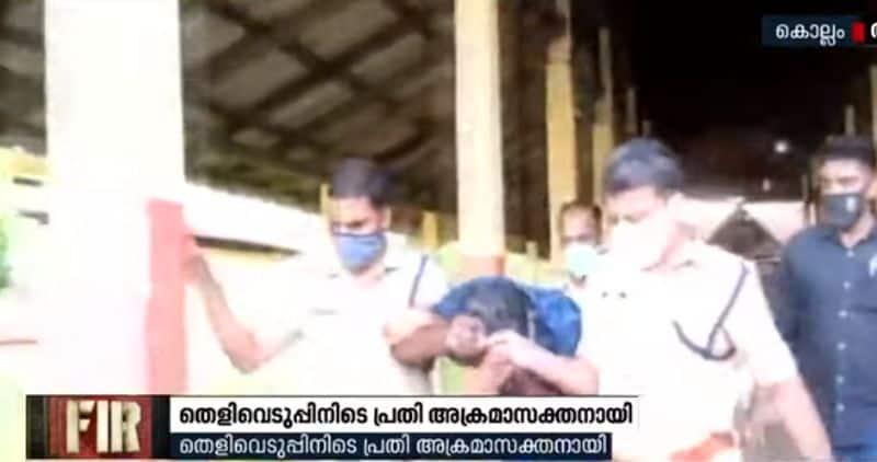 kerala kollam temple theft main accused held