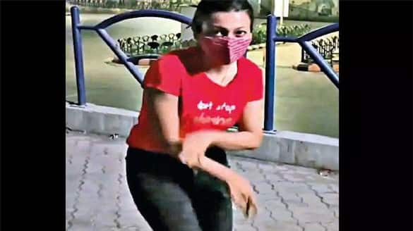 Gujarat Woman shoots dance video on road during night curfew in Rajkot, booked for COVID norms' violation