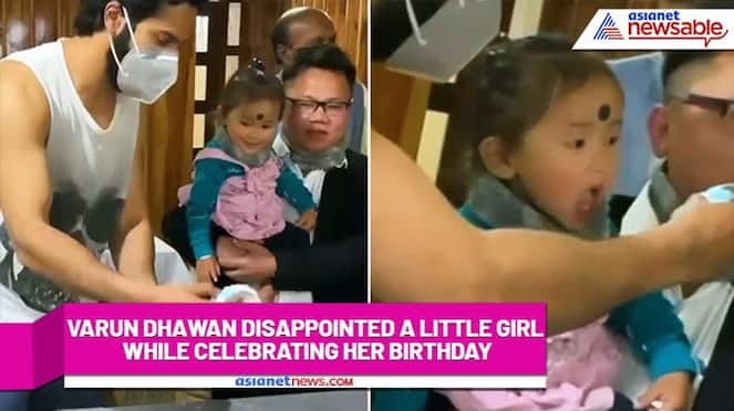 Why Varun Dhawan why? We cannot believe you did this to cute little girl (Watch) RCB