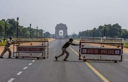 <p>covid threat six days lockdown in delhi</p>