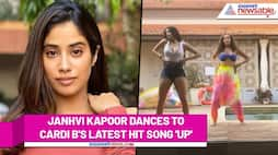 Janhvi Kapoor shows off her sexy dance moves to Cardi B's latest song 'Up' RCB