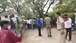TRS Supporters Attack on BJP Leader in Siricilla District akp