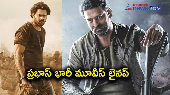 Prabhas diary jam-packed for next five years