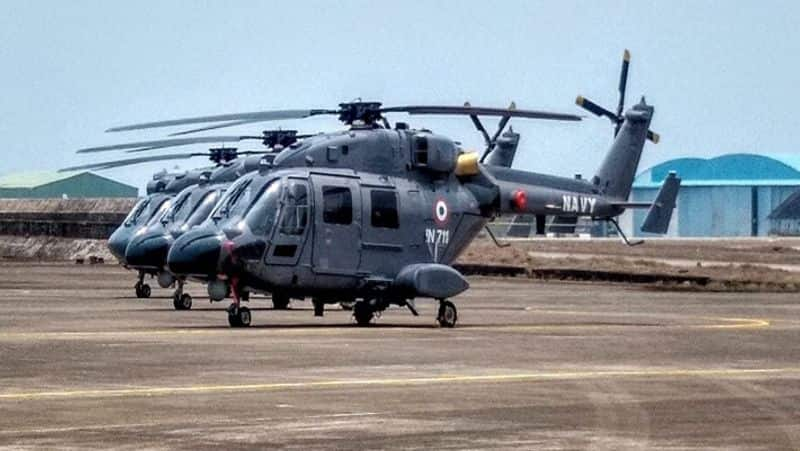 Three Green Helicopter will give strength to Navy, Know all about DHA