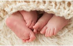 <p>twin babies</p>