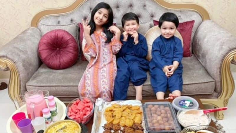 Five years old Cancer survivor's Child Nasir keep fast of first Ramadan in Dubai KPY