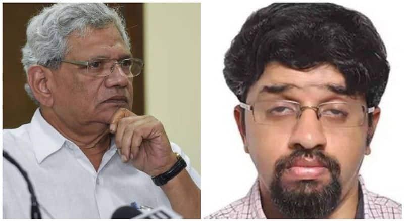 Sitaram Yechury s son Ashish passes away due to COVID 19   snr