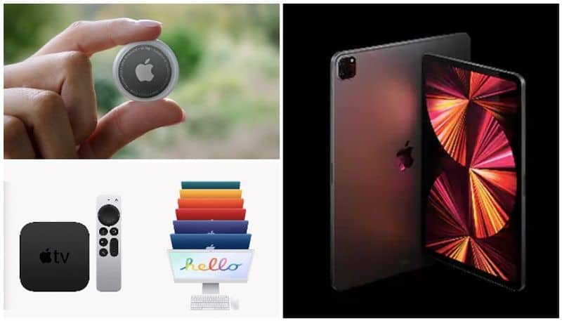 Apple XDR iPad Pro, M1 iMac, Purple iPhone 12, AirTag, TV 4K Launched