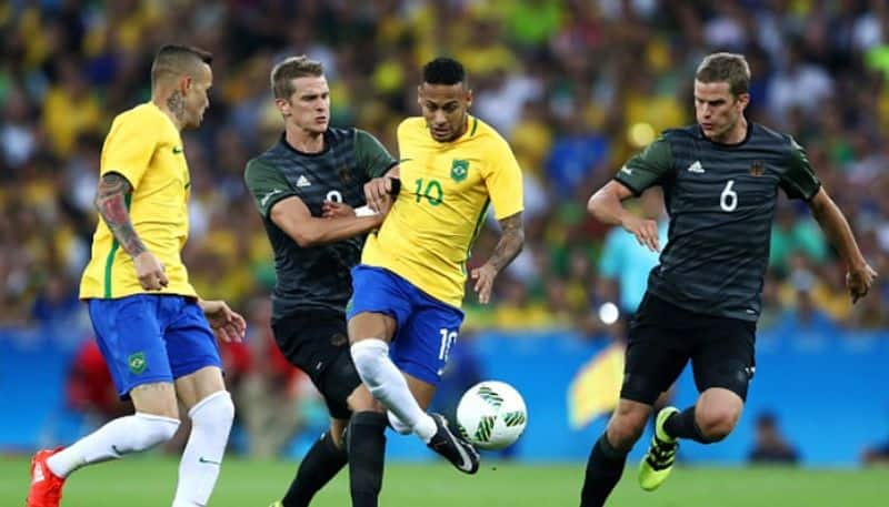 Tokyo Olympics football Brazil and Germany in same group