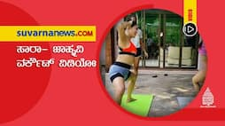 Bollywood Sara Ali Khan Janhvi kapoor workout together in new video vcs