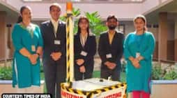 Engineering students design sanitising robot that can be operated from 400 metres away