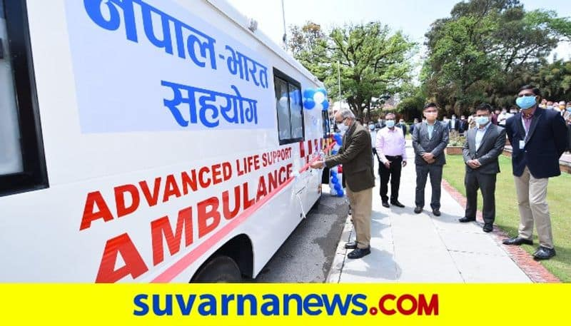 India gifts 39 ambulances, 6 school buses to Nepal dpl