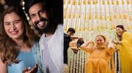 south actor vishnu vishal and jwala gutta haldi mehandi ceremony photos viral on socil media KPJ