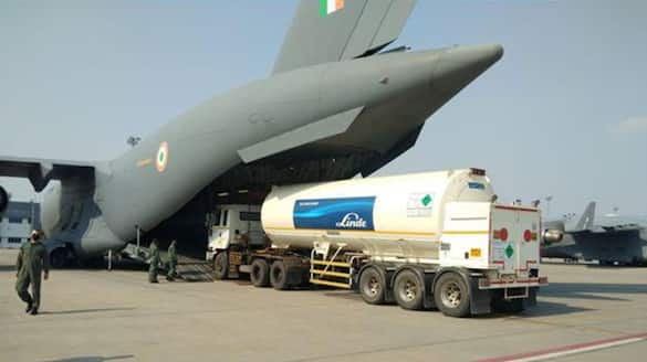 Defence ministry decided to airlift 23 mobile oxygen generation plants from Germany ckm