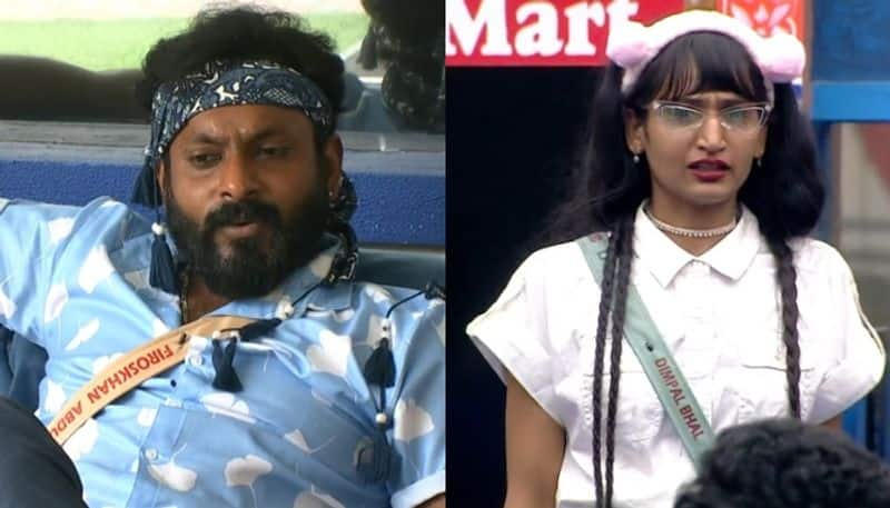 if dimpal bhal has that much ground support i will evicted in 77th episode says kidilam firoz