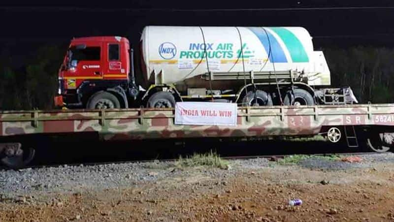Indian Railways delivers more than 2960MT of liquid medical oxygen in 185 tankers to various states