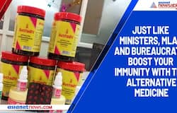 Just like Ministers, MLAs and bureaucrats, boost your immunity with this alternative medicine