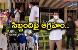 <p>Minister Anil Kumar Yadav Inspection On corona centre in eluru hospital akp</p>