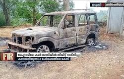 <p>vehicle burned idukki</p>