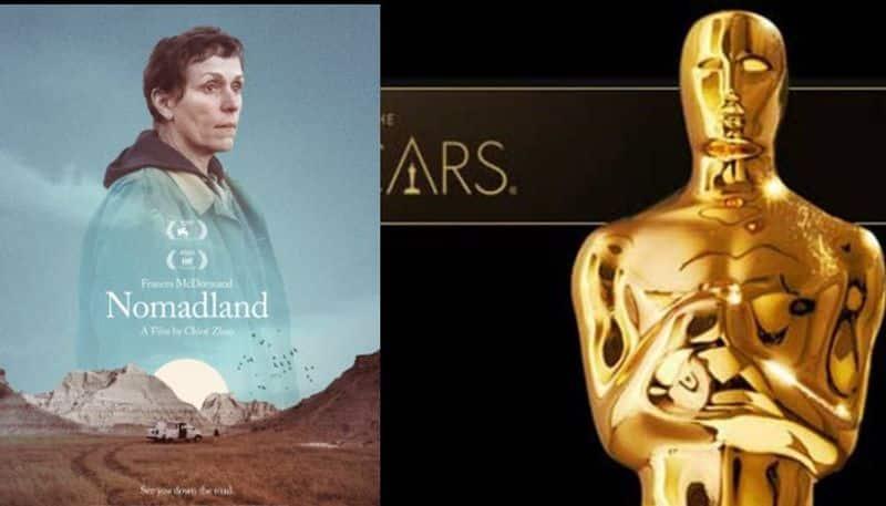 nomadland movie got oscar award for best picture  arj