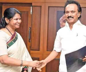 BJP calls on Kanimozhi to come and fight against DMK government ..!