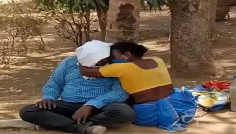 corona fear caused death of a man in nizamabad - bsb