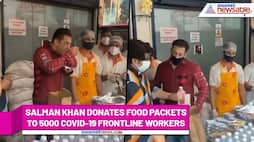 Salman Khan once again earns fans' respect by donating food packets to 5000 COVID-19 frontline workers RCB