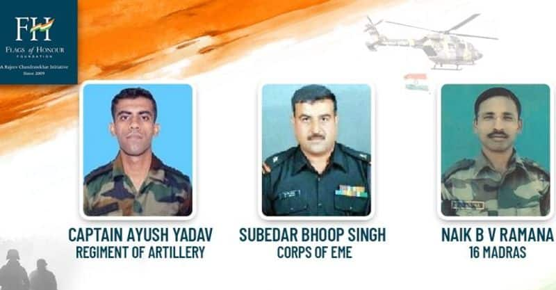Captain Ayush Yadav, Subedar Bhoop Singh & Naik BV Ramana: 3 brave men who neutralised terrorists in Kupwara