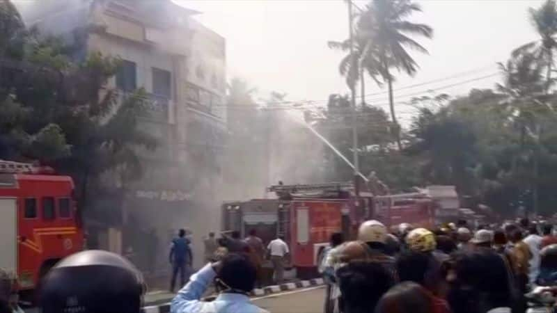 Four patients dead in fire at hospital at Thane in Maharashtra