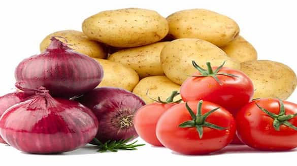 Prices of Onion, Tomato and Potato cheaper than last year bsm
