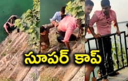 <p>Youth Jumps Into Hussain Sagar Lake, Police Home guard Rescues</p>