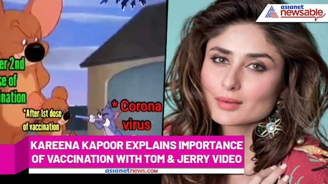 Kareena Kapoor shares a Tom & Jerry video to explain why COVID-19 vaccination is necessary (Watch) - ank