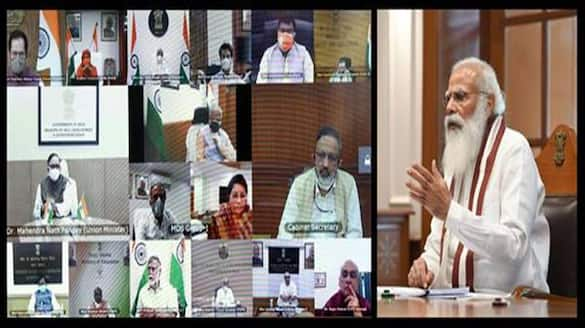 PM Modi chaired Council of Ministers meeting, said to stay in touch with people DHA