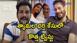 Anchor shyamala husband narasimha reddy shared video about his arrest
