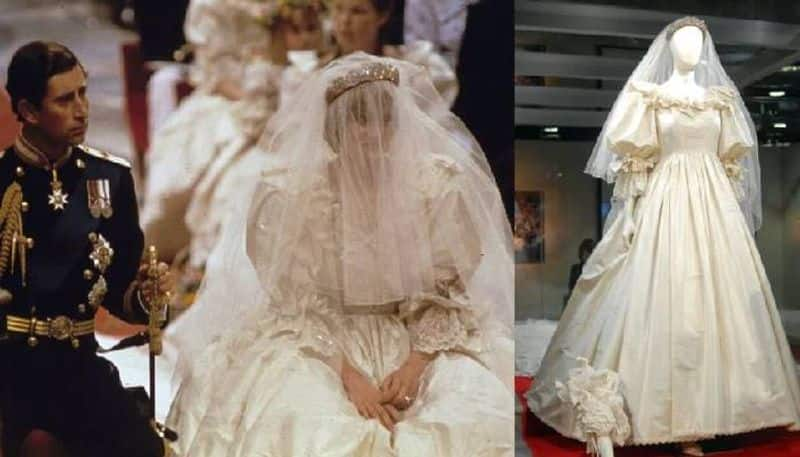Princess Dianas wedding gown will be on display for the first time in 25 years