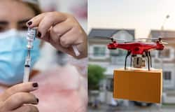 <p>covid vaccine drone</p>