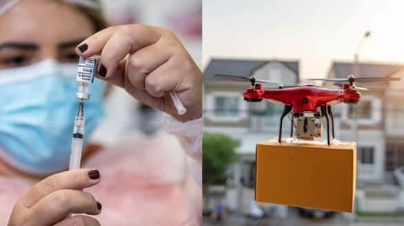 Experimental drone flights allowed for vaccine delivery pod