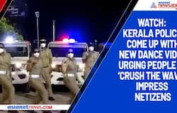 Watch: Kerala police come up with new dance video urging people to 'crush the wave'; impress netizens