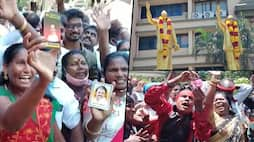 Despite EC ban on victory processions, DMK workers celebrate in large numbers-dnm