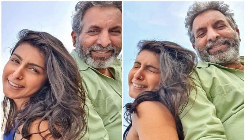 heroine samyuktha hegde requesting to save her parents  arj