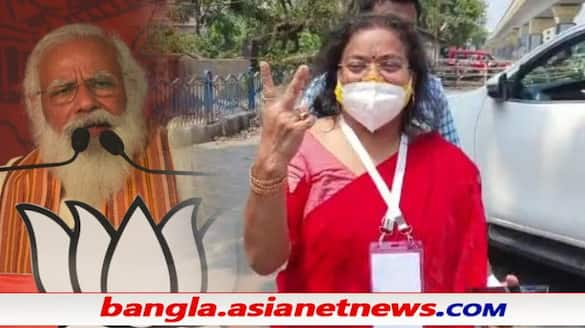 Modi will shave his beard today, says TMC Behala East candidate Ratna Chatterjee ALB