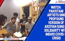 Watch: Pakistani artists sing profound version of Arziyan song in solidarity with India's COVID-19 crisis