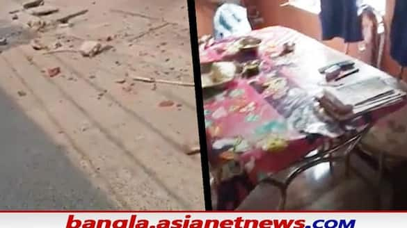 Attack on persons house after election results in Howrah BPC