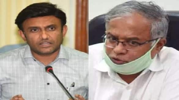 Ministers Sudhakar and Suresh Kumar Reacts on 24 Patients Die Due To Oxygen Shortage Chamarajnagar rbj
