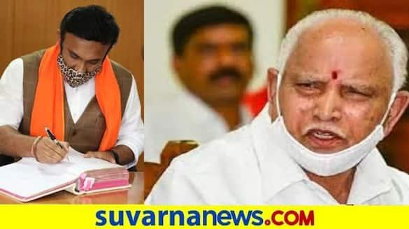 Covid High Risk JDS MLA CS Puttaraju Slams  CM  BSY Health Minister Sudhakar snr