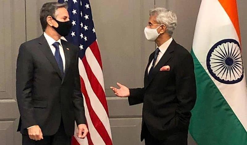 Jaishankar meets Antony Blinken on G7 sidelines-VPN