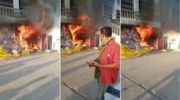 <p>fire accident at tirumala</p>