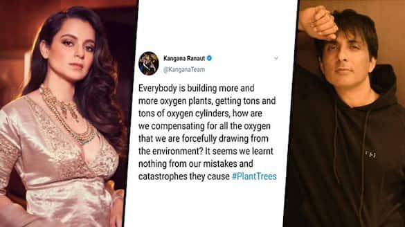 Kangana Ranaut takes 'Panga' again, accuses people of stealing oxygen, calls Sonu Sood fraud-SYT